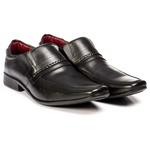 Sapato Social em couro Legítimo Preto Linha Moscou Kapell