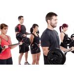 Kit 5 Barras Body Pump Com Presilhas Musculação Funcional