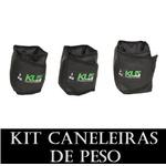Kit Caneleira Tornozeleira de Peso 2,3 E 4 kg