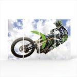 Conjunto de Quadros Motocross - 120 X 80 cm