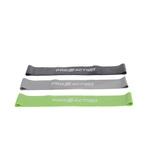 Kit 3 Mini Bands Faixa Elastica Circular Pilates Funcional