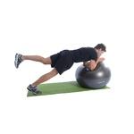 Bola Suiça Pilates Yoga Ginastica 75 Cm + Dvd Grátis