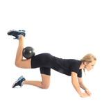 Bola Pilates Overball Funcional Academia 26 Cm