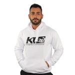 Moletom Branco KL Master Fitness