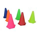 Kit 10 Cones Lisos 23 Cm Para Treino Funcional de Agilidade e coordenação