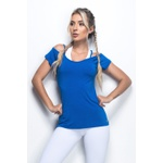 Blusa Alma Livre Azul Bic