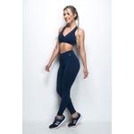 Calça Legging Fitness Comfort Azul Marinho