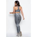 Calça Legging Fitness Infinity Cinza