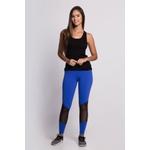 Calça Legging Fitness Korefit Azul Bic