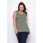 Camiseta Canelada Mullet Verde