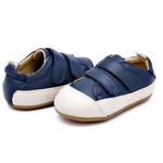 Tenis Baby Sleek - Marinho / Off White