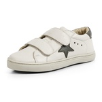 Tênis Kids Star - Off White / Verde Militar