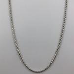 Corrente Indiana 1,9 mm em Prata 925