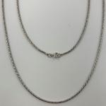 Corrente Indiana 1,3 mm em Prata 925