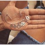 Bracelete Ajustável em Prata 925
