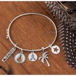 Bracelete Médio Liso em Prata 925