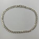 Pulseira Grumet 4,1 mm em Prata 925