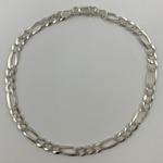 Pulseira 3 em 1 de 4,5 mm em Prata 925