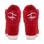 Tênis Sneaker LandFeet Cris Piza 02 Vermelho