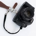 Alça dupla para fotógrafo em Couro