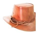 Chapéu de Couro Modelo Cavalos Country feito a Laser