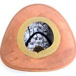 Chapéu em Couro Rustico original Arábia premium estrelas