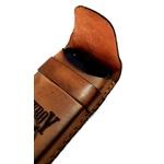 Capinha para Celular feita em Couro - Costurada a Mão