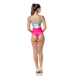 Body larulp madri low cut square 21033 - NUDE/ROSA/AZUL