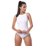 Body Larulp Detroit High Cut Sleeveless - BRANCO