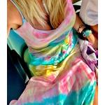 Tie Dye Rainbow - Slip Dress