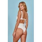 Stella Off White - Calcinha Hot Pants Laço