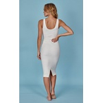 Melina Off White - Vestido Midi
