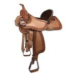 Sela de couro Três Tambores, Team Penning, Ranch Sorting, Letícia Country 3299