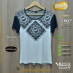 T Shirt Buphallos Feminina 4808