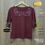 T Shirt Buphallos Feminina 4812