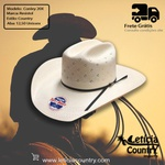 Chapéu Resistol Conley 20X Genuine Shantung Panamá 4780