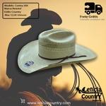 Chapéu Resistol Conley 20X Genuine Shantung Panamá 4781