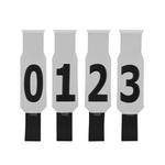 Faixas para Boiada Ranch Sorting Jogo com 10 Peças 4874