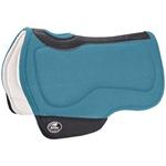 Manta Tambor Boots Horse Redonda Flex Comfort Azul Turquesa BH-82 3985