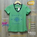 T Shirt Miss Country Feminina 4823