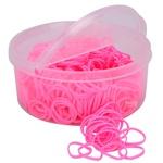 Elástico Importado para Tranças em Crina e Rabo Pink 4575