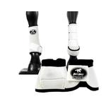 Kit Simples Cloche e Caneleiras Branca Boots Horse 3715