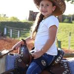 Suporte de Sela para Criança Boots Horse 4167