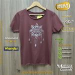 T Shirt Wrangler Feminina 4820