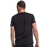 t-shirt básica Preto