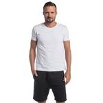 t-shirt básica branco