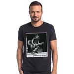T-shirt Camiseta Lobo Rock Star