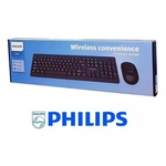 Kit Teclado + Mouse Sem Fio - Wireless Philips