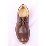 Sapato Social Confort Albarus na Cor Marrom.