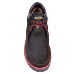 Sapato Adventure em Couro Nobuck Preto - 5700